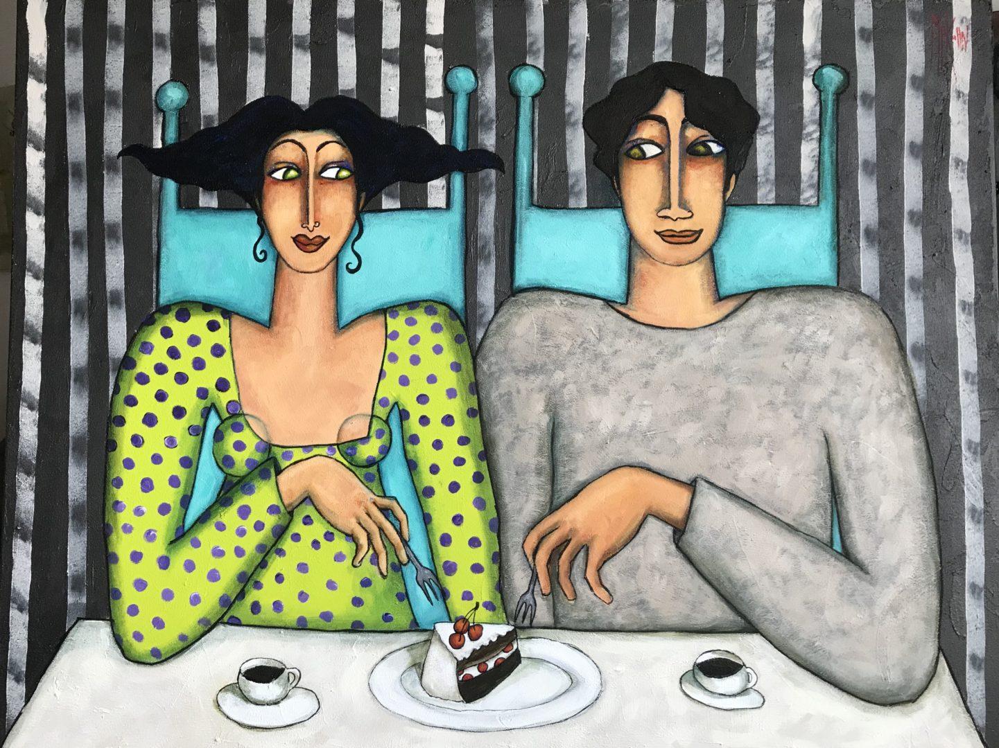 café et gateau